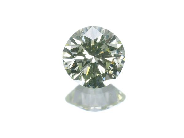 【超大幅値下げ品!】ダイヤ ダイヤモンド 0.232ct SI1 FANCY YELLOW GREEN ルース 裸石 ソーティングメモ【中古】GENJ