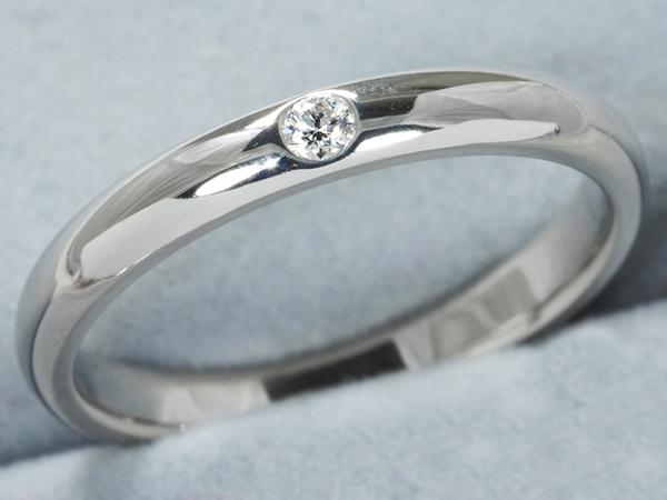 ハリーウインストン リング ダイヤ ダイヤモンド マリッジ ラウンド Pt950/プラチナ 17号【中古】BLJ