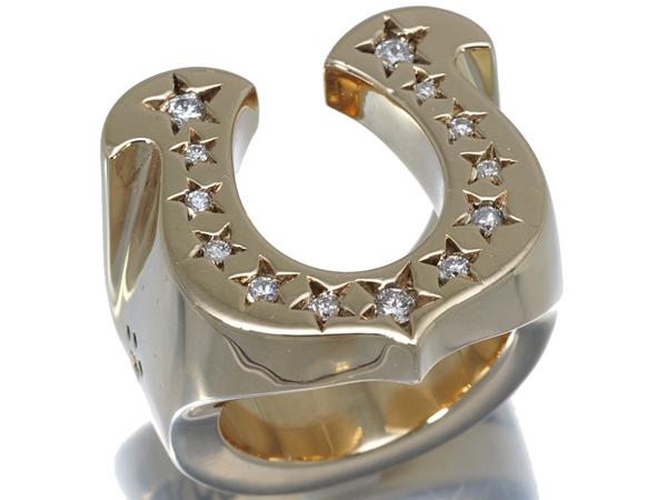 テンダーロイン リング ダイヤ ダイヤモンド ホースシュー 8K 13号【中古】BLJ/GENJ