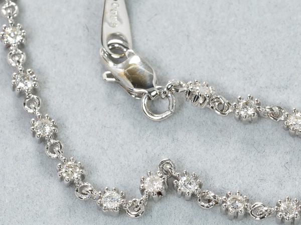 ダイヤ ダイヤモンド 0 63ct ブレスレット K18WGGENJdoeWQrCxB