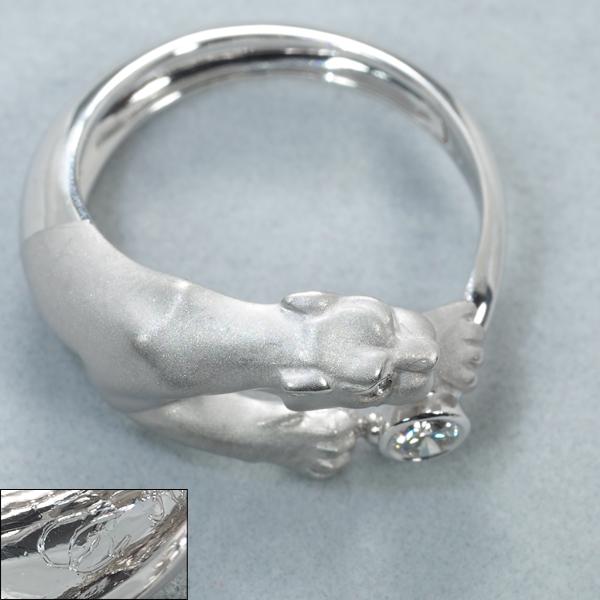 カレライカレラ リング 指輪 ダイヤ ダイヤモンド パンサー 10号 K18WGBLJdxerCBoW