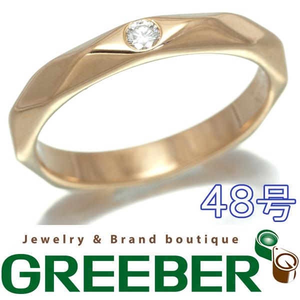 【超大幅値下げ品!】ブシュロン リング ダイヤ ダイヤモンド ファセット K18PG 48号【中古】BLJ