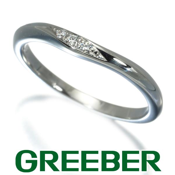 ラザールキャプラン リング 指輪 ダイヤ ダイヤモンド 0.02ct 10号 Pt950/プラチナ【中古】BLJ/GENJ