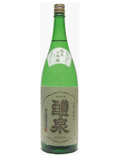 醴泉(れいせん)純米大吟醸 原酒 1800ml「20190129shokufes」