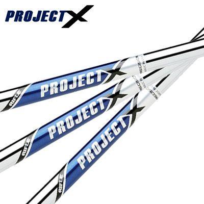 TRUE TEMPER PROJECT Xトゥルーテンパー プロジェクト エックス アイアンシャフト6本(#5-Pw)