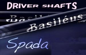 バシレウス スパーダ DR シャフトBasileus Spada DR shaft