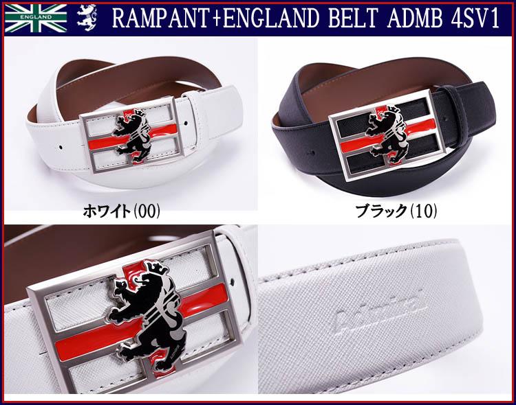 アドミラル ゴルフ ランパント イングランド ベルト ADMB4SV1Admiral Golf RAMPANT + ENGLAND BELT ADMB 4SV1