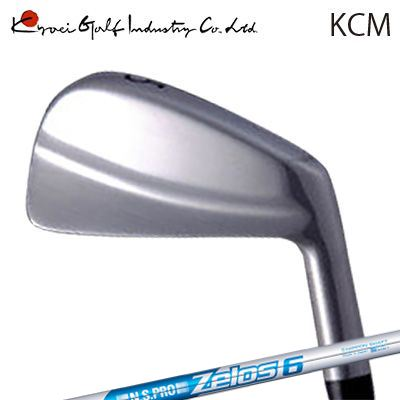 KYOEI GOLF REGULAR IRON KCM N.S.PRO ZELOS6共栄ゴルフ レギュラーアイアンヘッド KCM NSプロ ゼロズ66本セット(#5~PW)