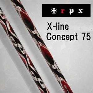 トリプルエックス ウッド シャフトエックスライン コンセプト75TRPX WOOD SHAFTX-Line Concept 75【smtb-k】【kb】