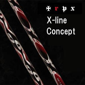 トリプルエックス ウッド シャフトエックスライン コンセプトTRPX WOOD SHAFTX-Line Concept【smtb-k】【kb】