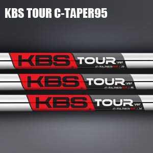 KBS TOUR C-Taper95 アイアンシャフト 6本(#5-Pw)【リシャフト・工賃込・往復送料無料】