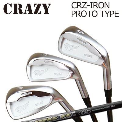 CRAZY CRZ-IRON PROTO TYPE ATTAS FF IRONクレイジー CRZ アイアン プロトタイプ アッタス FF アイアン6本セット(#5~PW)