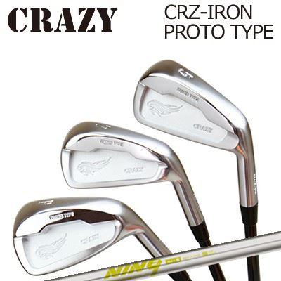 CRAZY CRZ-IRON PROTO TYPE K'S NINE9クレイジー CRZ アイアン プロトタイプ KS ナイン6本セット(#5~PW)