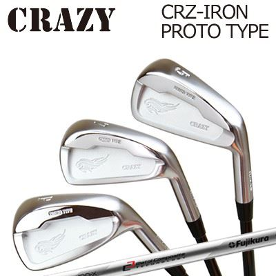 CRAZY CRZ-IRON PROTO TYPE MCI 90-110クレイジー CRZ アイアン プロトタイプ MCI 90-1106本セット(#5~PW)