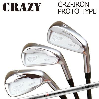 CRAZY CRZ-IRON PROTO TYPE MCI 120クレイジー CRZ アイアン プロトタイプ MCI 1206本セット(#5~PW)