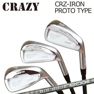CRAZY CRZ-IRON PROTO TYPE Recoil95/110クレイジー CRZ アイアン プロトタイプ リコイル95/1106本セット(#5~PW)