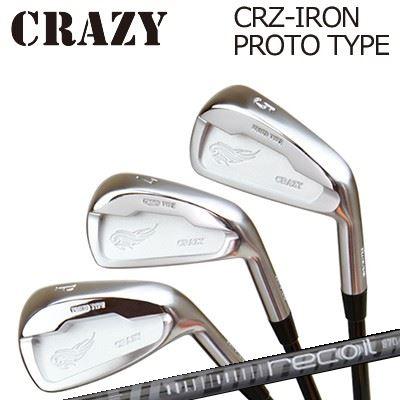 CRAZY CRZ-IRON PROTO TYPE Recoil660クレイジー CRZ アイアン プロトタイプ リコイル6606本セット(#5~PW)