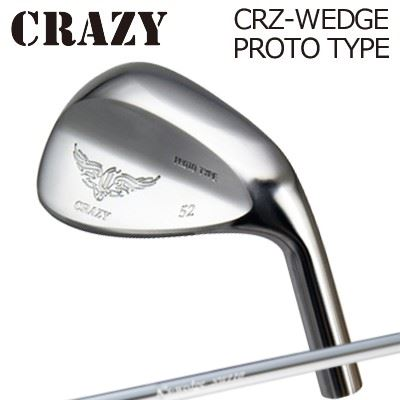 CRAZY CRZ-WEDGE PROTO TYPE K'S Wedge HW120 DCRクレイジー CRZ ウェッジ プロトタイプ K'S ウェッジ HW120 DCRメッキ仕上