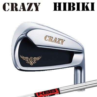 CRAZY HIBIKI Iron KBS TOUR FLTクレイジー ヒビキ アイアン KBSツアー FLT6本セット(#5~PW)