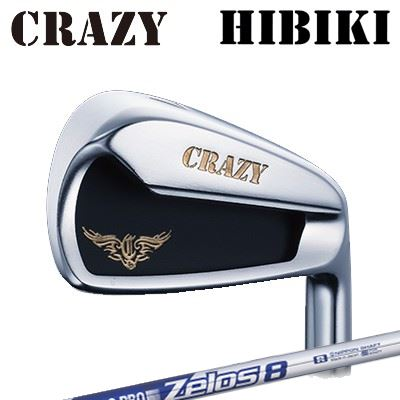 CRAZY HIBIKI Iron N.S.PRO ZELOS8クレイジー ヒビキ アイアン NSプロ ゼロズ86本セット(#5~PW)