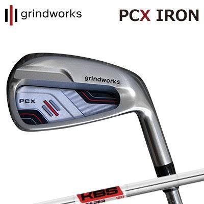 GRINDWORKS PCX IRON KBS $-Taperグラインドワークス PCX ポケットキャビティ アイアン KBS ダラーテーパー6本セット(#5~PW)