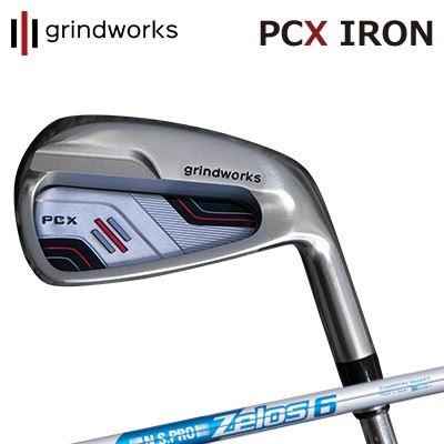 GRINDWORKS PCX IRON N.S.PRO ZELOS6グラインドワークス PCX ポケットキャビティ アイアン NSプロ ゼロズ66本セット(#5~PW)