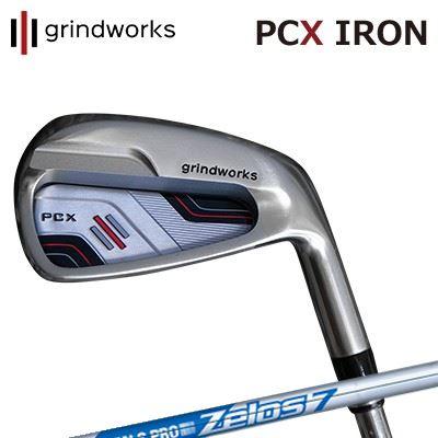 GRINDWORKS PCX IRON N.S.PRO ZELOS7グラインドワークス PCX ポケットキャビティ アイアン NSプロ ゼロズ76本セット(#5~PW)