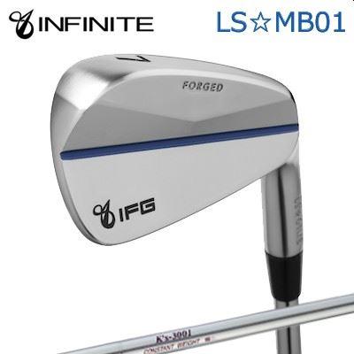 【カスタムモデル】INFINIT LS MB01 IRON K'S 3001インフィニットゴルフ LS☆MB01 アイアン K'S 30016本セット(#5~PW)