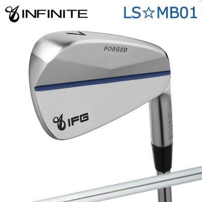 【カスタムモデル】INFINIT LS MB01 IRON K'S TOUR 115インフィニットゴルフ LS☆MB01 アイアン K'Sツアー 1156本セット(#5~PW)