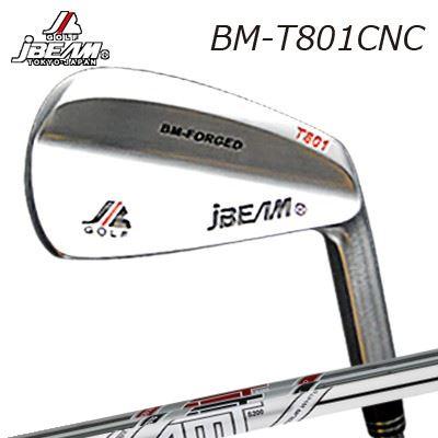 JBEAM BM-T801CNC IRON AMT RED/BLACK/Tour WHITEジェイビーム BM-T801CNC アイアン AMT レッド・ブラック・ツアーホワイト6本セット(#5~PW)