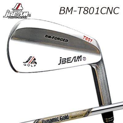 JBEAM BM-T801CNC IRON Dynamic Gold EX Tour Issueジェイビーム BM-T801CNC アイアン ダイナミックゴールド イーエックス ツアーイシュー6本セット(#5~PW)
