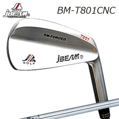 JBEAM BM-T801CNC IRON N.S.PRO V90ジェイビーム BM-T801CNC アイアン NSプロ V906本セット(#5~PW)