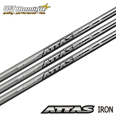 UST mamiya アッタス アイアンシャフト 40/50/60/80 6本セット(#5~P)UST mamiya ATTAS iron shaft 40/50/60/80 6本セット(#5~P)【リシャフト・工賃込・往復送料無料】