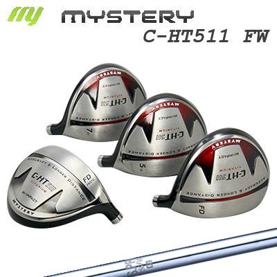 【カスタムモデル】The MYSTERY C-HT511 Fairway Wood N.S.PRO950FWミステリー C-HT511 フェアウェイウッド 日本シャフト N.SPRO950FW