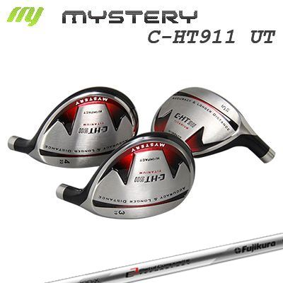 【カスタムモデル】The MYSTERY C-HT911 Utility Fujikura MCI120 UTミステリー C-HT911 ユーティリティ シャフト:MCI120 UT