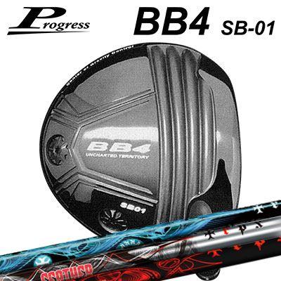 Progress BB4 SB-01 Driver TRPX T-SERIESプログレス BB4 SB-01 ドライバー トリプルエックス Tシリーズ