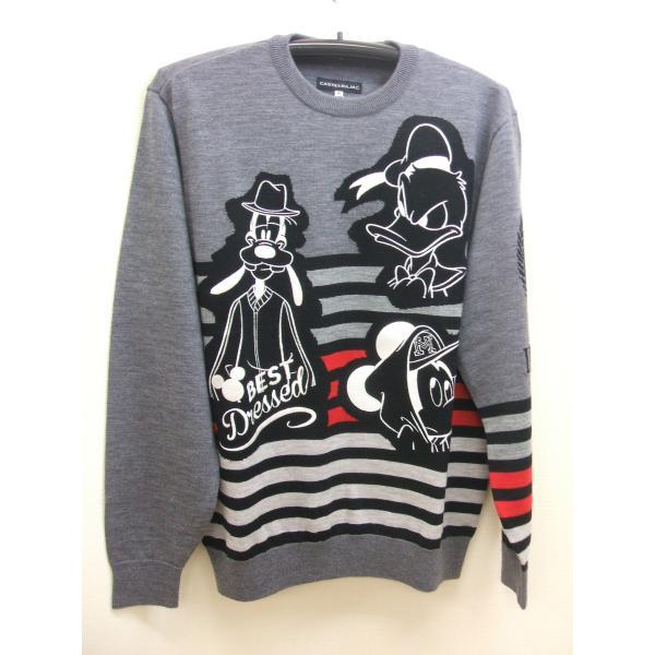 【送料無料】カステルバジャックCASTELBAJACメンズディズニー柄セーター