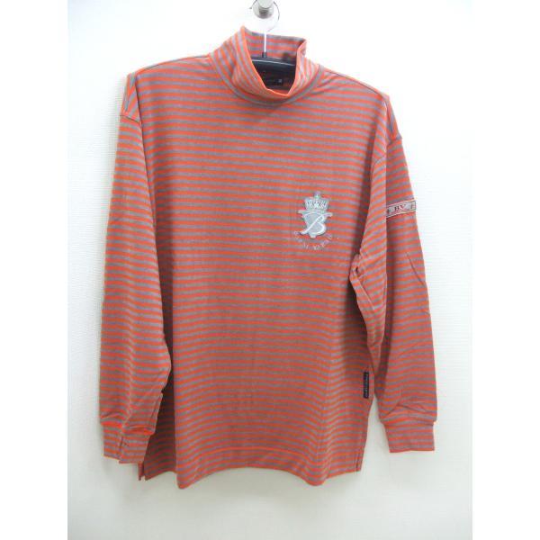 【送料無料】バーニバーノBARNIBARNOメンズハイネックTシャツ