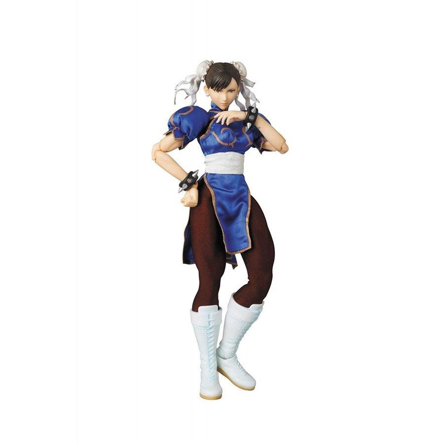 【送料無料】リアルアクションヒーローズ カプコン !!送料無料!メディコム・トイ RAH 春麗 Ver.2.0