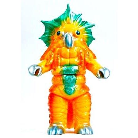 怪獣郷 ミラーマンシリーズ カプセル冷凍怪獣コールドン (イエロー)