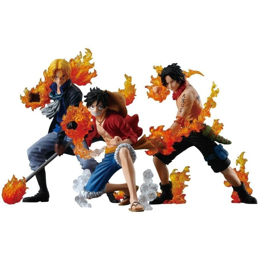 ワンピース ATTACK STYLING 炎の3兄弟 3個入 BOX