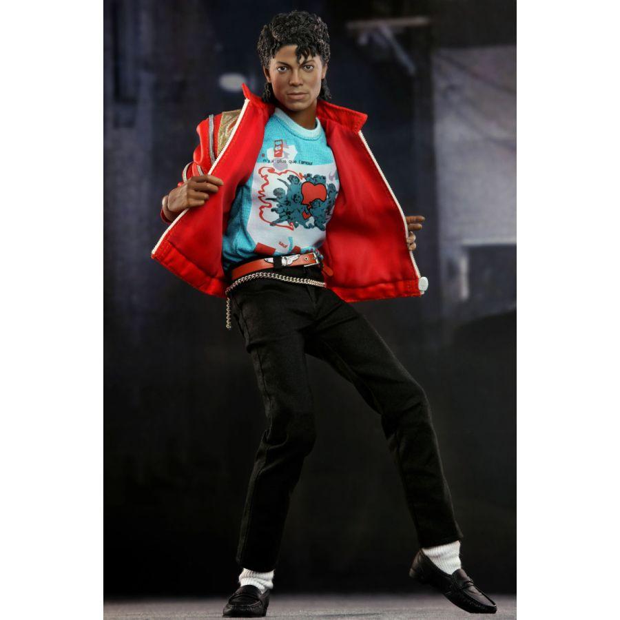ホットトイズ【マイコン】 1/6スケールフィギュア マイケル・ジャクソン(今夜はビート・イット版)
