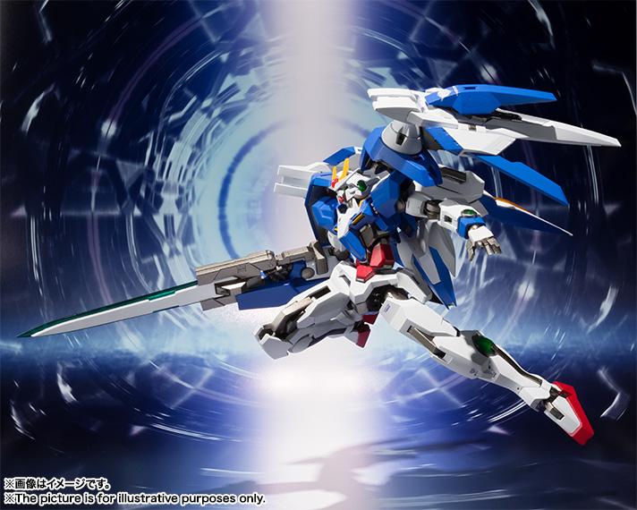 METAL ROBOT魂 機動戦士ガンダム00SIDE MS ダブルオーライザー+GNソードIII
