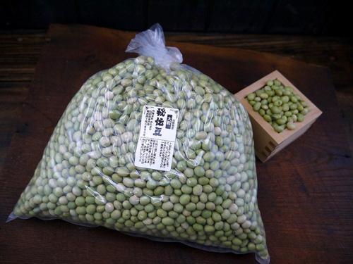 令和2年 毎日がバーゲンセール 今年度採れたての美味しい新物 ギフト 秘伝豆です 秘伝豆 3kg 青大豆 大粒