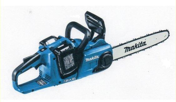 マキタ 充電式チェンソー MUC353DPG2 (バッテリーBL1860B 18V 6.0Ah 2個+充電器 DC18RD 2口)セット