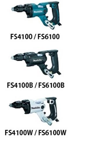 マキタ ボード用スクリュードライバ FS4100(青・黒・白)