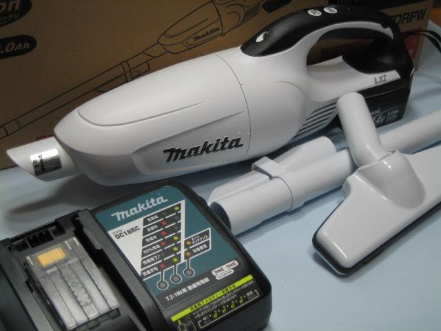 マキタ充電式クリーナ CL141FDRFW 14.4V セット カプセル式 1年保証付