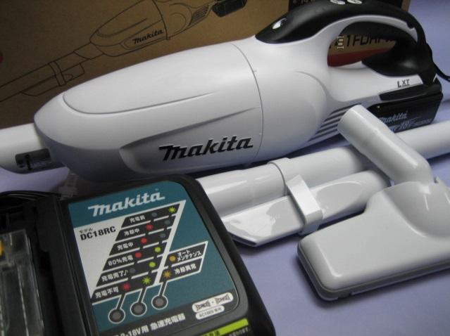マキタ充電式クリーナ CL181FDRFW 18V セット カプセル式 1年保証付