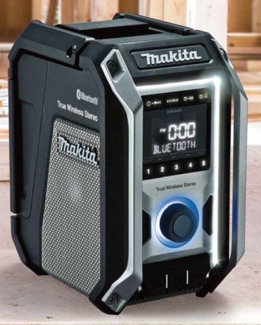マキタ 充電式ラジオ MR113B 黒 (18/14.4/10.8V) 本体のみ