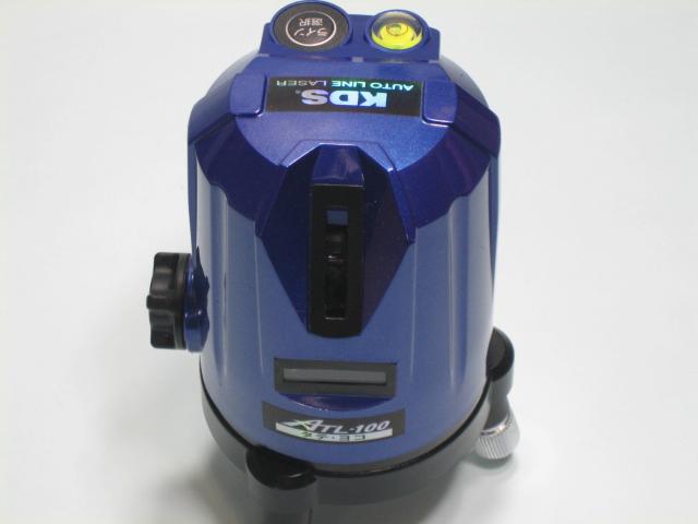 KDS レーザーレベル墨出器 ATL-100(たて・よこ) 本体のみ 1年保証付